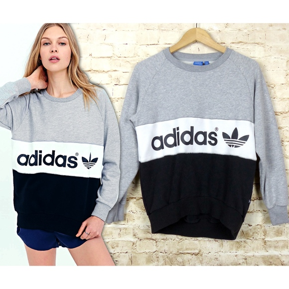28ea1070 adidas Sweaters | Originals City Color Block Sweatshirt | Poshmark